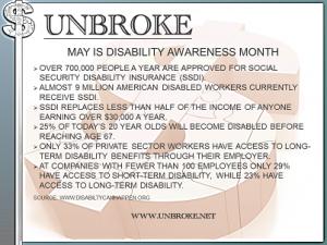 Get UNBROKE - Disability Insurance Awareness Month