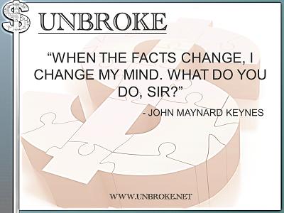 Learning from legends - when the facts change - John Maynard Keynes