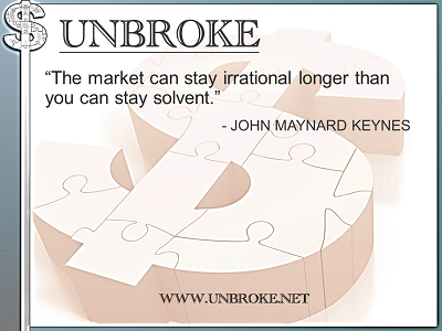 Learning from legends - Irrational Market and your solvency - John Maynard Keynes
