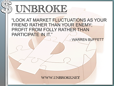 Learning from legends - Market Fluctuations as your friend - Buffett