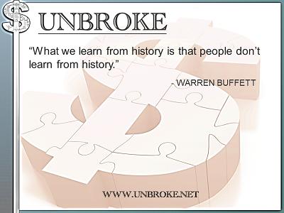 Learning from legends - what we learn from history - Warren Buffett