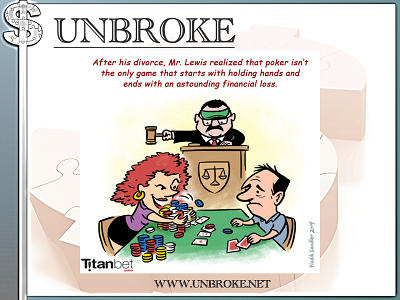 Financial Funnies - How divorce is like poker