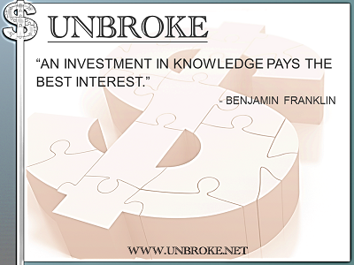 Learning from legends - Investment in Knowledge Pays Best Interest - Ben Franklin