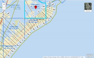 fema flood risk map ocean city. nj