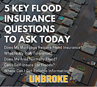 5 flood insurance questions