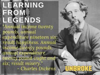 Charles Dickens on Financial Planning... Learning from Legends