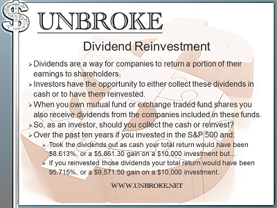 Dividend Reinvestment and the Power of Compounding [Infographic]